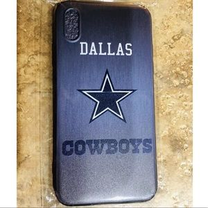 Other - iPhone XS MAX Rugged Silicone Case Dallas Cowboys